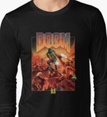 DOOM CLASSIC COVER Long Sleeve T-Shirt