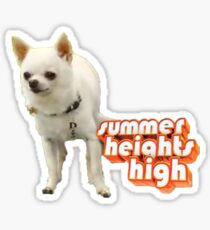 Celine, Summer Heights Sticker