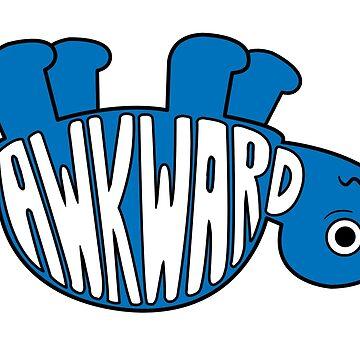 Awkward Turtle - BLUE by hanjungyup