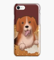 The Everything Bagel Beagle iPhone Case/Skin