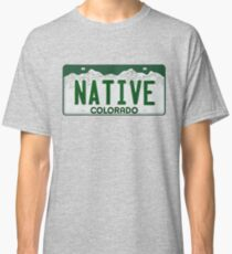 Colorado Native Kennzeichen Classic T-Shirt