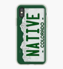 Colorado Native Kennzeichen iPhone-Hülle & Cover