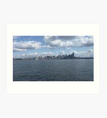 Seattle - WA landscape Art Print