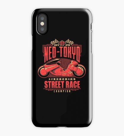 Neo-Tokyo Street Racing Champion iPhone Case/Skin