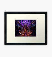 """The Key is within"" Framed Print"