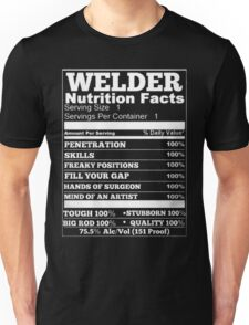 Welder nutrition Unisex T-Shirt