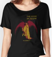 The King In Yellow Women's Relaxed Fit T-Shirt