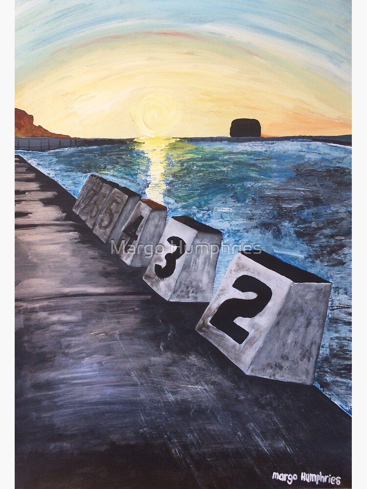 """""""Merewether Baths"""" by Margo Humphries by kasarnDesigns"""