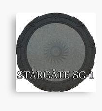 The Stargate - Stargate SG1 Canvas Print