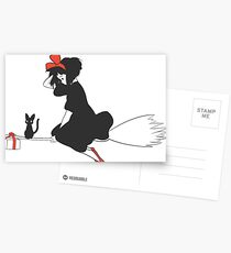 Kiki's Delivery Service Postcards