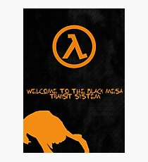 Half Life Black Mesa Photographic Print