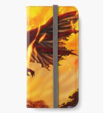 Drachenkraft iPhone Flip-Case/Hülle/Klebefolie