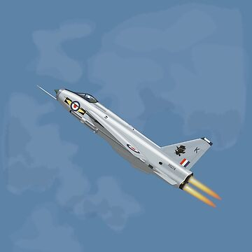 English Electric Lightning F.6 by Antilles