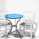 ...Greece in high key..a table for two  by John44