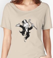 Monopoly Man Women's Relaxed Fit T-Shirt