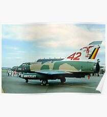 Dassault (SABCA) Mirage 5BR BR22 Poster