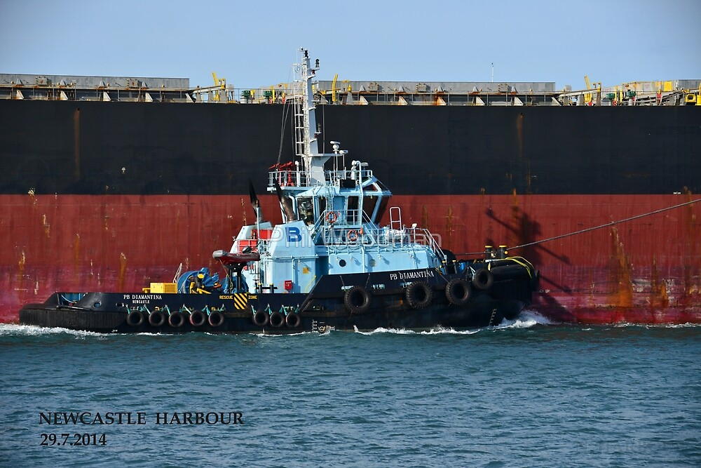 PB DIAMANTINA - PB TOWAGE TUG by Phil Woodman