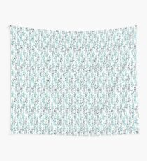 Turquoise foliage  Wall Tapestry