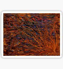 Z-Brush Organic Background Sticker