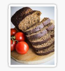 Bread and Tomato Sticker