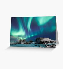 Aurora farm Greeting Card