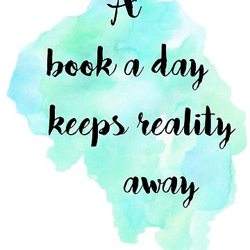 A book a day (black) by GeorgiaMae14