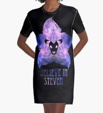 Believe in Steven Graphic T-Shirt Dress