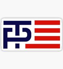 Trump Pence Campaign Logo Sticker