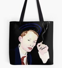 Thom Yorke smoking a cigarette Tote Bag