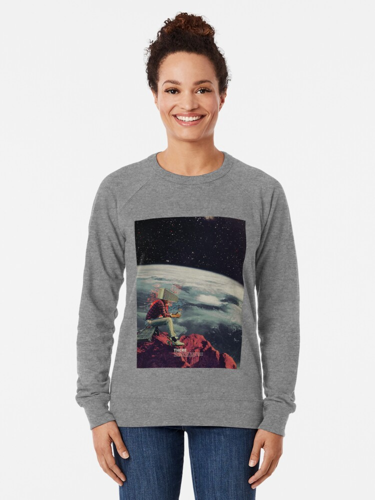 Alternate view of Figuring Out Ways To Escape Lightweight Sweatshirt