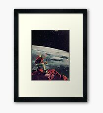 Figuring Out Ways To Escape Framed Print