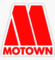 MOTOWN DISCO RECORDS (RED) Sticker