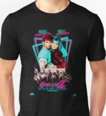 Neon 80's GREASE 2  Slim Fit T-Shirt