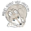 wolves against wolf whistling by pagalini