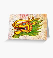 Thailand Dragon Greeting Card