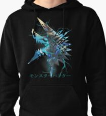 Monster Hunter - Zinogre  Pullover Hoodie