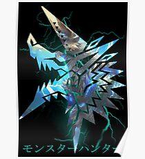 Monster Hunter - Zinogre  Poster