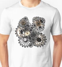 Steampunk Gears on your Gear No.2 Unisex T-Shirt