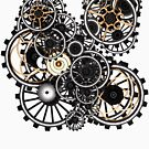 Steampunk Gears on your Gear No.2 by Steve Crompton