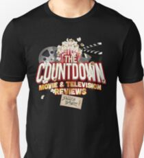The Countdown Movie & TV Reviews Podcast T-Shirt