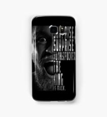 'SURPRISE, SURPRISE MOTHERFUCKER. THE KING IS BACK' Conor McGregor Samsung Galaxy Case/Skin