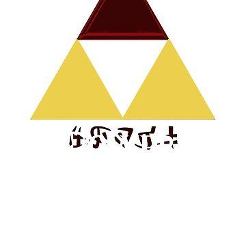 The Triforce of Power von MrRed