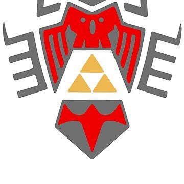 Majora's Mask Shield von MrRed
