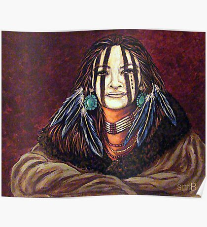 The Mourning Mask, Wrapped In Tradition Poster