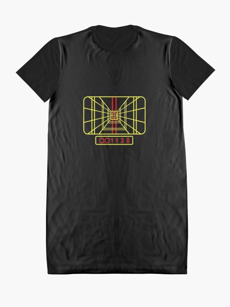 Alternative Ansicht von Bleib fokussiert T-Shirt Kleid
