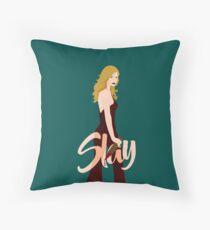 Slay Buffy Throw Pillow