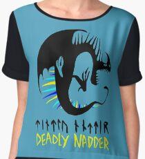 DEADLY NADDER - Sharp Class Symbol Women's Chiffon Top