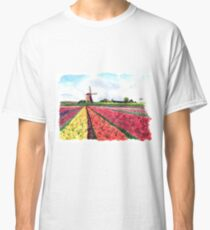 Holland flowers Classic T-Shirt