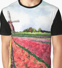 Holland flowers Graphic T-Shirt