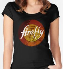 The One Season Only 'FIREFLY' Women's Fitted Scoop T-Shirt